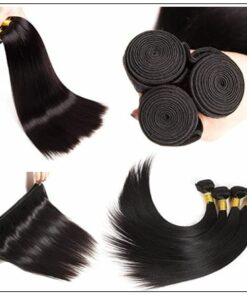 Brazilian Natural Straight Weave Hair Extensions img 4-min