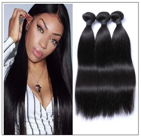 Brazilian Natural Straight Weave Hair Extensions img-min