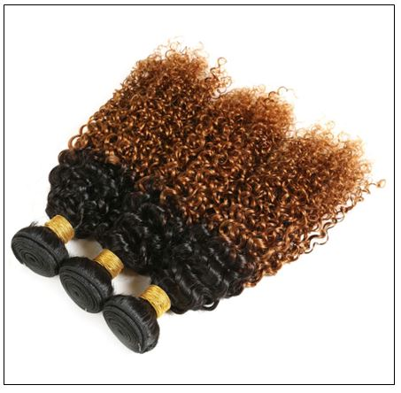 Brazilian Ombre Kinky Curly Hair Weave img 3-min