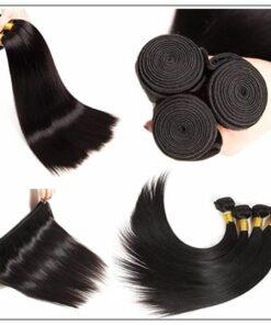 Brazilian Straight Frontal Closure Hair Weave img 3-min