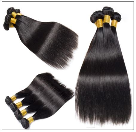Brazilian Straight Hair 14 Inch Hair Extensions img 3-min