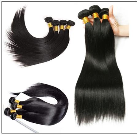 Brazilian Straight Human Hair weave img 2-min