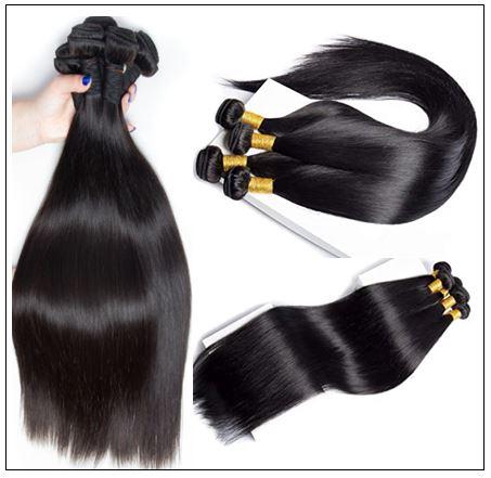 Brazilian Straight Human Hair weave img 3-min