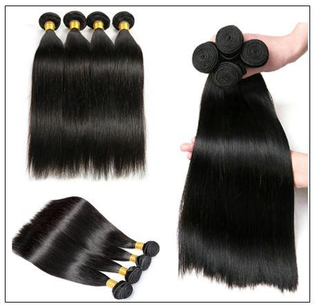 Brazilian Straight Human Hair weave img 4-min