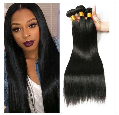 Brazilian Straight Human Hair weave img-min