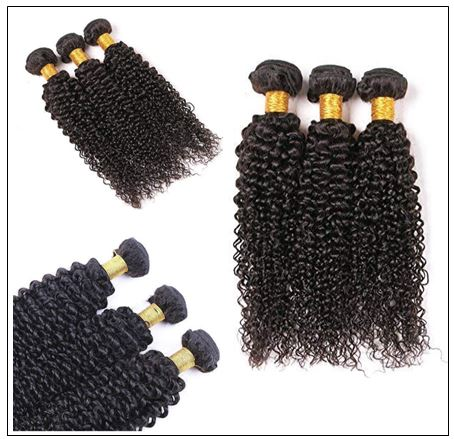 Cheap Brazilian Kinky Curly Hair Weave img 2-min