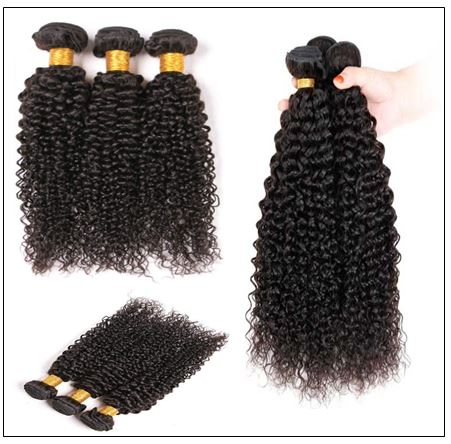 Cheap Brazilian Kinky Curly Hair Weave img 3-min