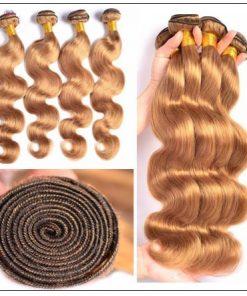 Honey Blonde Brazilian Body wave img 3-min