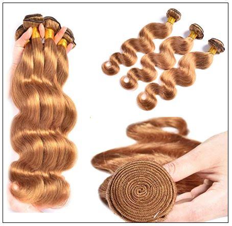 Honey Blonde Brazilian Body wave img 4-min