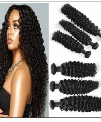Mink Brazilian Curly Hair Weave img-min