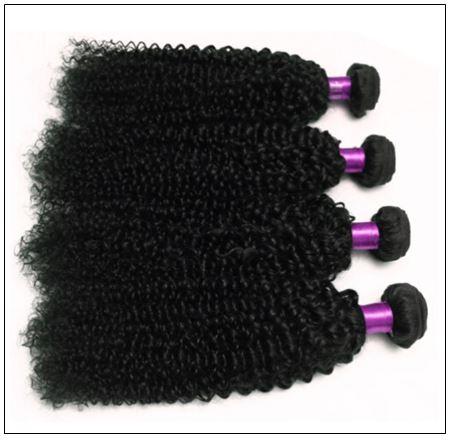 Simply Brazilian Natural Kinky Curly Hair Weave img 3-min