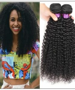 Simply Brazilian Natural Kinky Curly Hair Weave img-min