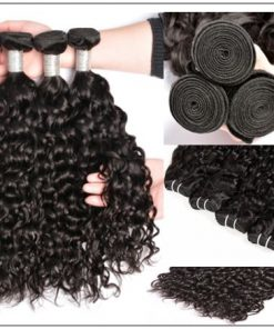 Brazilian water wave remy hair img 2-min