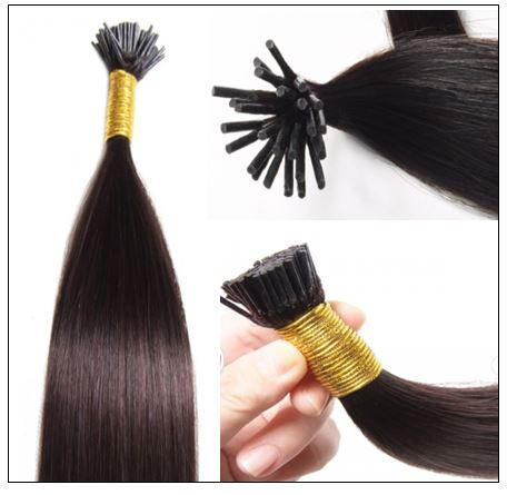 100 Pieces Tip Hair Extensions img 3-min