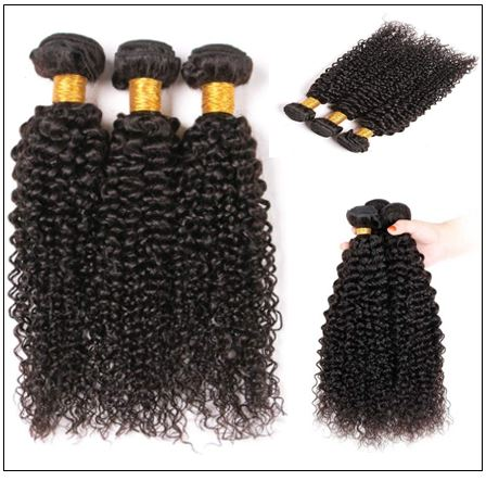 100% Virgin Hair Kinky Curly 3 Pcs With 13×4 Frontal img 2-min