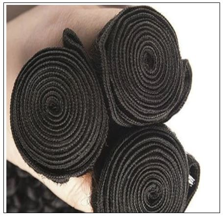 100% Virgin Hair Kinky Curly 3 Pcs With 13×4 Frontal img 4-min