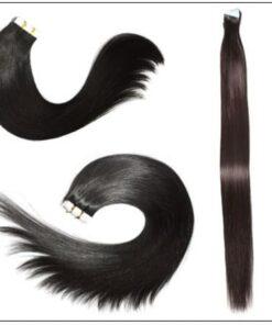 #1B Natural Black 100% Virgin Hair img 4-min
