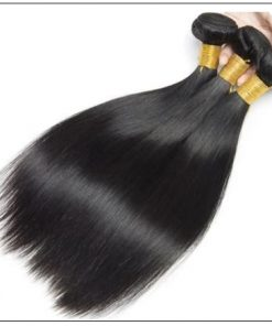 3 Bundles Straight Human Virgin Hair With 360 Lace Frontal img 2-min