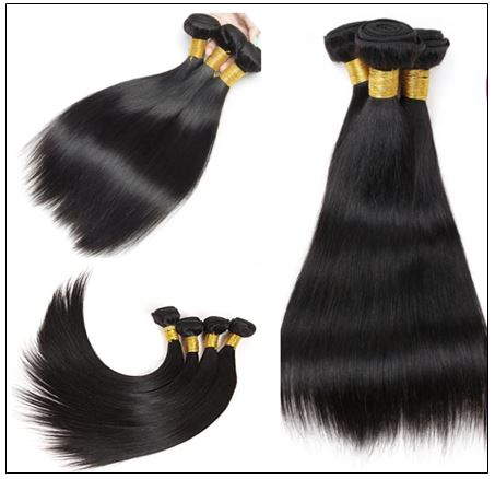 3 Bundles Straight Human Virgin Hair With 360 Lace Frontal img 4-min