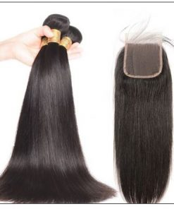 3 bundles raw virgin straight hair with lace closure IMG 3-min