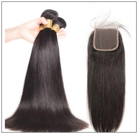3 bundles unprocessed premium virgin straight hair with lace closure IMG 2-min