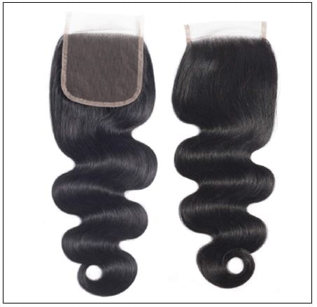 3Pcs Virgin+ Brazilian Body Wave Hair With Lace Closure img 2-min