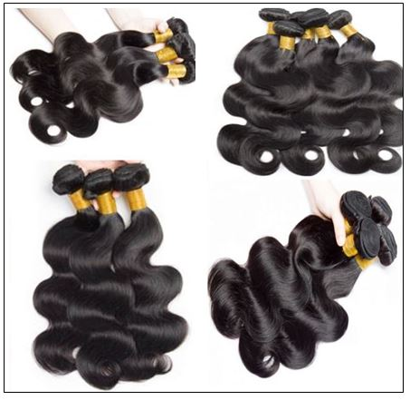 3Pcs Virgin+ Brazilian Body Wave Hair With Lace Closure img 3-min