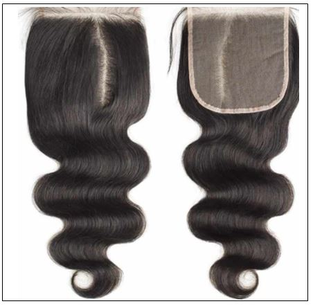 5x5 HD Lace Closure Body Wave Transparent Lace Undetectable Lace Closure Invisible Knots Human Hair img 2-min