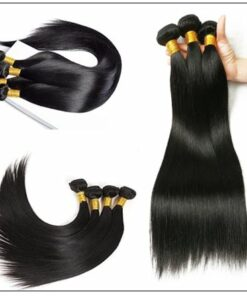 5x5 HD Lace Closure Straight Hair Deep Parting Transparent Lace Closure Invisible Knots Natural Virgin hair img 2-min