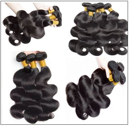 5x5 HD Lace Closure with Bundles Invisible Knots Body Wave Hair Weaves With Transparent Lace Closure Human Hair img 2-min