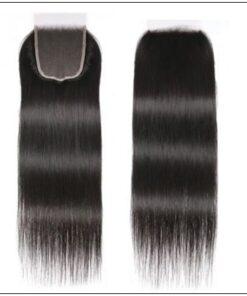 Brazilian Straight Virgin Hair 3 Bundles With Lace Closure img 4-min