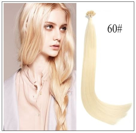 Keratin Stick I-tip Straight Remy Human Hair Extensions img-min