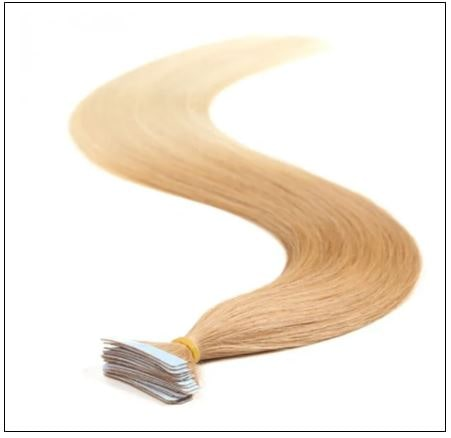Ombre Straight Tape In Hair Extensions T27-613 100% Virgin Hair IMG 4-min