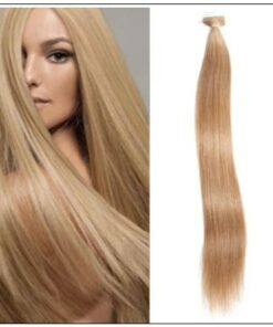 Straight Tape In Hair Extensions #12 Light Brown 100% Virgin Hair IMG-min