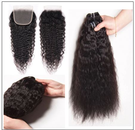 Super Wave Weaving With Closure 4x4 Swiss Lace Closure Free Part Brazilian Hair Closure img 3-min