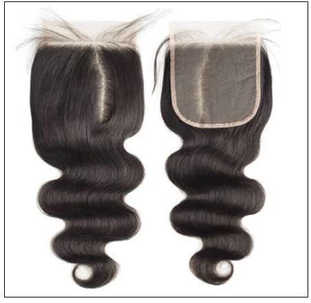 Unprocessed frontal lace closure with 3pcs bodywave virgin hair bundles img 3