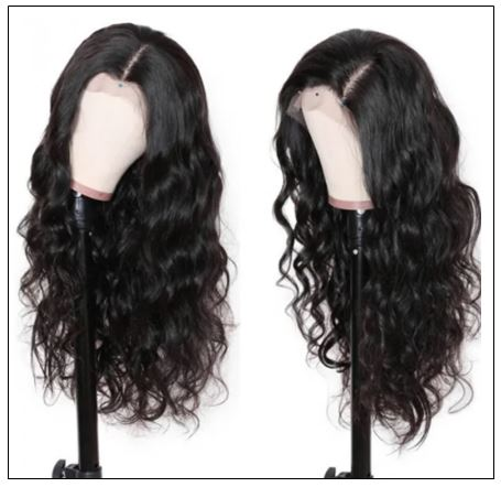 100% High Quality Virgin Human Hair Body Wave 360 Lace Front Wig Pre Plucked Natural Hairline img 2-min
