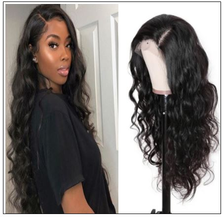 100% High Quality Virgin Human Hair Body Wave 360 Lace Front Wig Pre Plucked Natural Hairline img 3-min