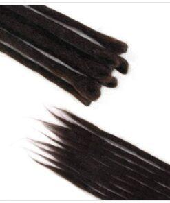 #4 Handmade Synthetic Dreadlocks Extensions Crochet Braids Hair 2-min