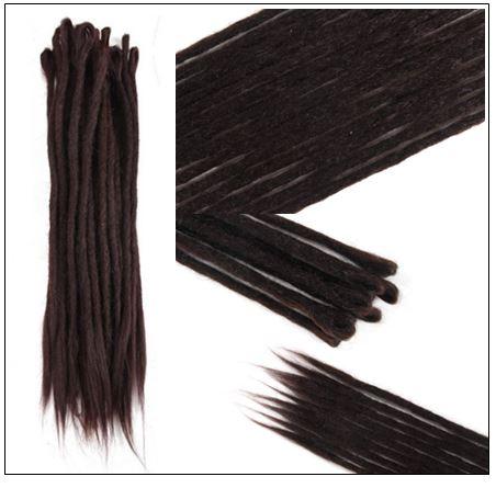 #4 Handmade Synthetic Dreadlocks Extensions Crochet Braids Hair 4-min