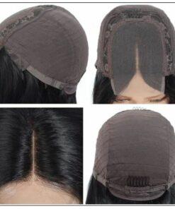 4x4 Lace Closure Wig Natural Black Human Hair Bob Wigs For Sale Affordable Short Human Hair Wigs img 3-min