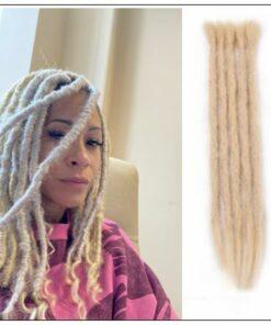 613 Color Human Hair Dreadlock Extensions Long Dreadlocks img-min
