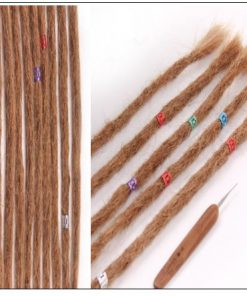Dreadlock Extensions Color 27 Dyed Dreads Dreadlock Styles 4-min