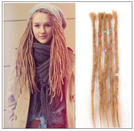 Dreadlock Extensions Color 27 Dyed Dreads Dreadlock Styles img-min