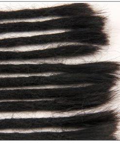 Dreadlock Extensions Human Hair 1# Hair Color Hairstyles 4-min