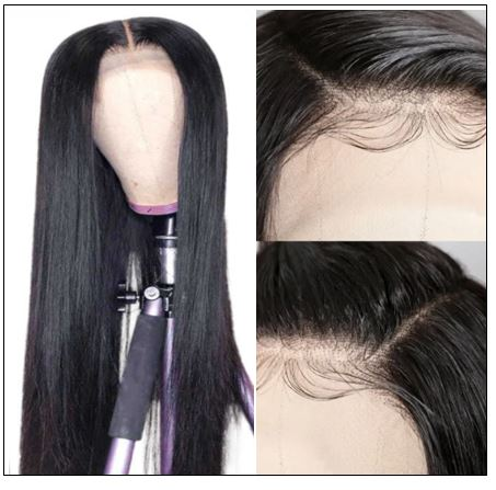 Full Lace Human Hair Wigs 150% And 180% Density Remy Hair Wig For Black Women 14-26 Inch 2-min