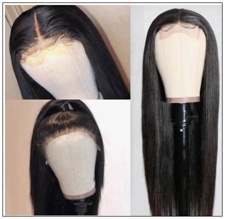 Full Lace Human Hair Wigs 150% And 180% Density Remy Hair Wig For Black Women 14-26 Inch 3-min