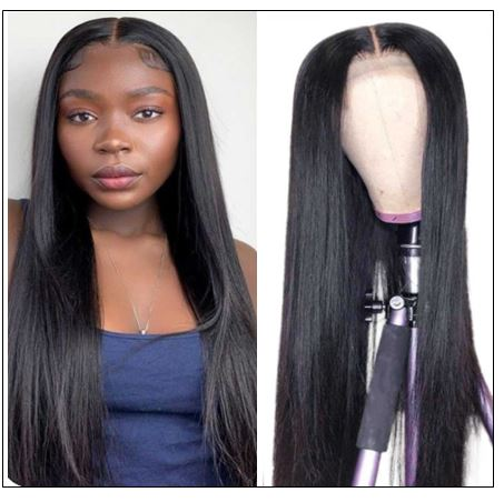 Full Lace Human Hair Wigs 150% And 180% Density Remy Hair Wig For Black Women 14-26 Inch img-min