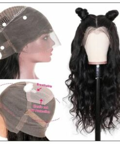 Human Hair Body Wave 360 Lace Frontal Wig img 2-min
