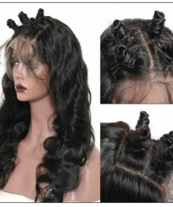 Human Hair Body Wave 360 Lace Frontal Wig img 4-min